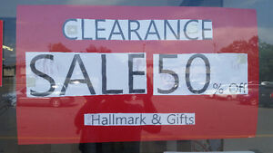 CLEARANCE SALE 50% OFF