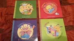 Livres pour enfants, Dominique et Compagnie