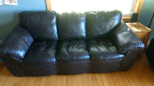 Leather couch / Sofa great shape