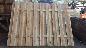 fencing garden box timbers