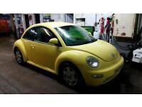 Volkswagen Beetle 1.6 2002 (52) Yellow