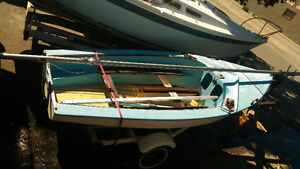 Holt Enterprise 14' Sailing Dinghy