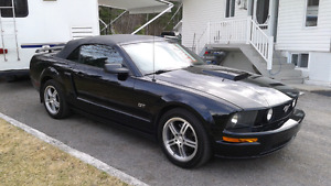Mustang Ford convertible