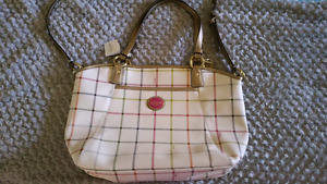 *Authentic* Coach Peyton Tattersall Tote