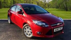 Ford Focus 1.0 SCTi ( 125ps ) EcoBoost 2013MY Titanium RED