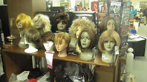 Professional Wigs $30 to $60 each