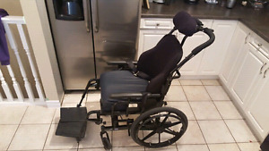 Used Concept 45- Manual Tilting Wheelchair.