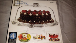 Moving Sale Glass Cake Stand