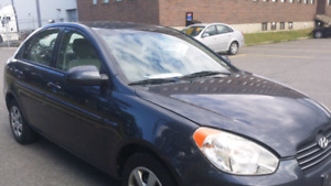 2008 hyundai accent 4 door  automatic