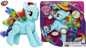Flipping and Talking Rainbow Dash My little Pony