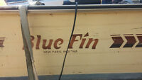 16 foot Blue Fin Center Console Fishing Boat