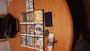 Nintendo ds with 12 games