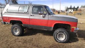 1990 lifted fullsize blazer