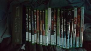 Plusieurs jeux xbox 360 (Lot de 20 jeux)