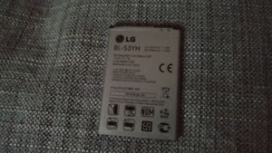 LG G3 cell phone battery