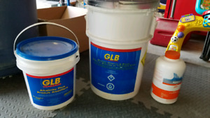Lot of pool chemicals over $200 value selling all for $40