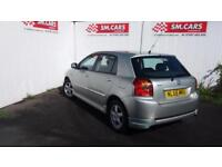 2005 55 TOYOTA COROLLA 1.4 D-4D T3.NICE LOW MILEAGE EXAMPLE.AMAZING MPG.2 X KEYS