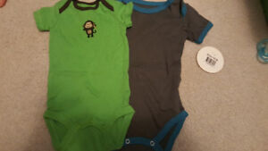 3 month baby boy onsies euc and brand new