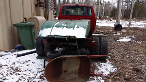 91 ford super duty. Cab chassis