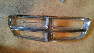 Dodge charger grill
