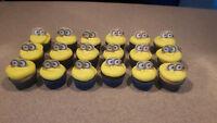 Minions Cupcakes Nut Free