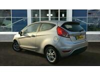 2014 Ford Fiesta 1.25 Zetec 3dr Hatchback Petrol Manual