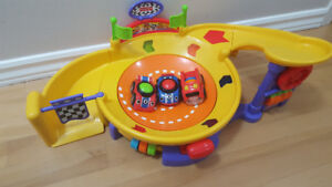 Fisher price race car track