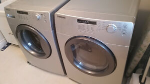 Samsung Silver Washer & Dryer - Excellent Condition