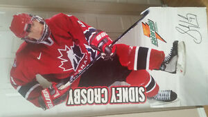 Sydney Crosby full size cardboard stand up.
