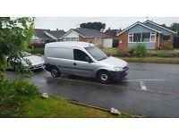 53 plate Vauxhall combi van