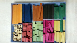 VINTAGE COLOMATH CALCULATING BLOCKS - TO LEARN MATH