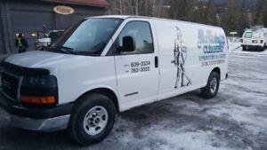 2005 GMC Savana Truck Mount Carpet Cleaner
