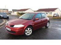 2007 07 RENAULT MEGANE 1.5 dCi 86 EXTREME 5 DOOR.FULL MOT.£30 ROAD TAX.S/HISTORY