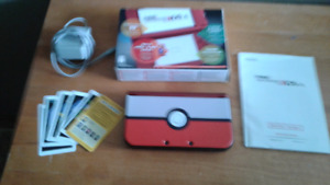 New 3ds XL with Pokeball shell