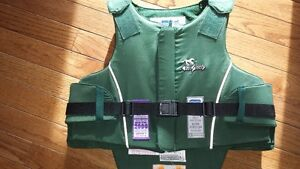 Youth riding vest