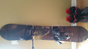 Lamar men's board  with bindings and boots