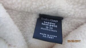 Sweater Coat Baby Gap size 18- 24 months