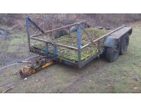 Bradley car trailer restoration project