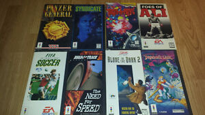 ** Lots of RARE Vintage Panasonic 3DO Games for Sale or Trade **