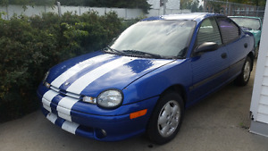 1996 Chrysler Neon - LOW KM's, Well Maintained