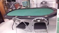 8 SEAT POKER TABLE MADE BY FAT CAT