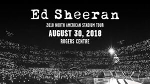 ED SHEERAN FLOOR SEATS! 2 TICKETS SIDE BY SIDE $275