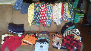 Oshkosh clothes 3 mth box full!