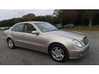 2004 04 MERCEDES-BENZ E CLASS 2.7 E270 CDI ELEGANCE 4D AUTO 177 BHP DIESEL