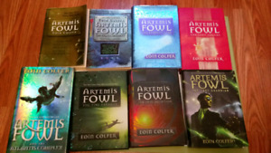 Artemis Fowl book set of 8