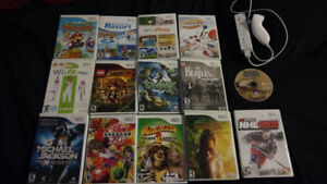 Nintendo Wii games - prices as listed in ad