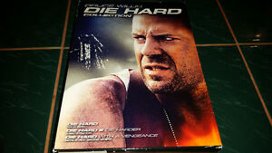 The Die Hard collection starring Bruce Willis on DVD only $9....