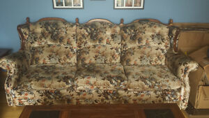 Couch, love seat,  and chair