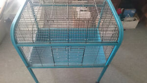 Large cage custom rewire for small animals