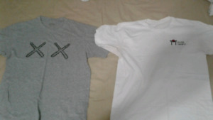 Kaws x uniqlo and Soigne Toronto tees size small
